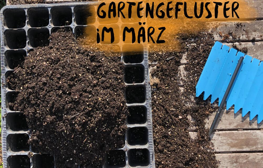 Podcast 14: Gartengeflüster im märz