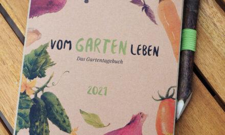 Jetzt das neue Gartentagebuch vorbestellen